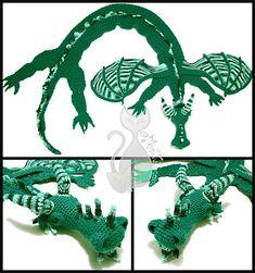 Ravelry: Dragon Scarf pattern by MyntKat Crochet Scarves, Crochet Yarn, Crochet Toys, Crochet Costumes, Crochet Dragon, Mittens Pattern, Crochet Gifts, Crochet For Kids, Crochet Animals