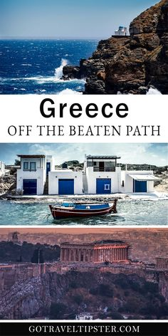 Discover the best of Greece with this one week off the beaten path itinerary. From Athens to Milos and Sifnos, these unique Greek Islands offer the best of food, culture and photography opportunities.  Far from the busy islands of Santorini and Mykonos, explore authentic Greece (and save money)..  #greece #greeceitinerary #athensgreece #milosgreece