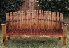 Wine Barrel Garden, Wine Barrel Planter, Wine Barrel Table, Wine Barrel Furniture, Small Garden Bench, Outdoor Garden Bench, Patio Bench, Garden Benches, Backyard Patio