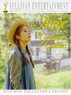 Megan Follows in Anne of Green Gables  One of my favorite love stories is between Anne & Gilbert, and I love love love this version of the books, every autumn i find myself spending a week watching these movies.  Anne was like the first real quirky awkward girl character that I related to, just so sweet & strong.