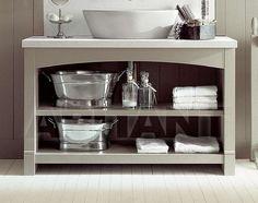 Тумба под раковину светло-серая Minacciolo BA7528 , мебель для ванной: фото, заказ на ABITANT ABITANT…