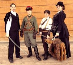 Cosplay of the characters from Scott Westerfeld's book, Leviathan