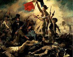 L'aboutissement du siècle des lumières et de ses belles idées... Cette image magnifique de la révolution française