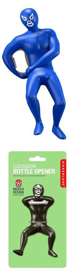 Stop wrestling with a bottle you can't open and let luchador do the job for you! | Check it out here ==> http://gwyl.io/luchador-bottle-opener/