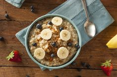 """5 things that will happen when you eat oatmeal.  Amp up your breakfast or snack routine with some """"whole""""-some oatmeal!"""