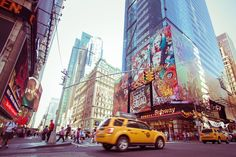 Photo de Times Square New York City par Brice Mercier