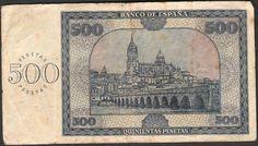 500 pesetas 1936