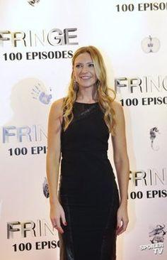 Anna Torv Fringe 100th episode party