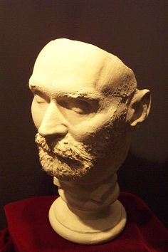 Alfred Nobel Death Mask