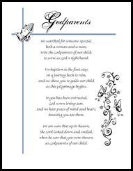 Free printable godparent certificates printable godmother godparent poem for her ninos yadclub Images