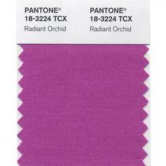 Pantone Radiant Orchid swatch
