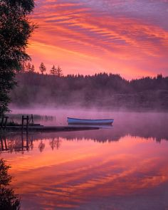 Loch Rusky Sunrise (Scotland) by David Mould on 500px