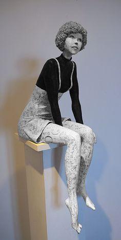 sculpture papier mâché