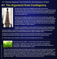 The Argument from Contingency