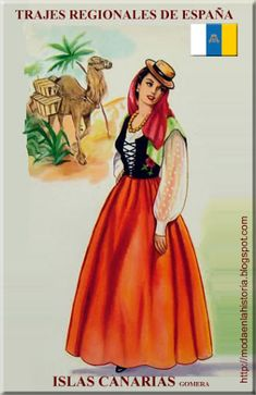 Vieux Couples, Spain Culture, Spanish Dress, Mexican Art, Regional, Canary Islands, Doll Patterns, Traditional, Costumes