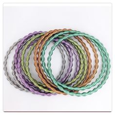🚨Clearance!🚨 NWT Mix Metallic Wire Bracelet Set NWT Adia Kibur Mix Metallic Wire Bracelet Set! One Set = 10 Bracelets! Made of Metal Alloy. Multiple Colors. Great To Wear With Just About Anything! Adia Kibur Jewelry Bracelets
