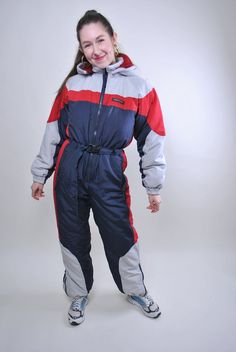 Ski Weekends, Snow Suit, Unique Outfits, Arctic, Vintage Men, Casual Shirts, Skiing, Winter Jackets, One Piece