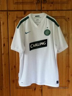 The Glasgow Celtic Football Club European Away Jersey for the 2009-2010  Champions League campaign · Soccer JerseysChampions ... 59d1a6eea