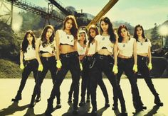 Girls Generation Catch Me If You Can -NOO!don't even think about it...They are MY eonnies...only I can catch them ;)