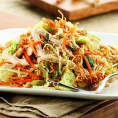 Chinese Chicken & Noodle Salad - EatingWell.com