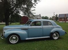 Buick : Other 4 door 1940 Buick Super Eight Model 51 4-door sedan - http://www.legendaryfind.com/carsforsale/buick-other-4-door-1940-buick-super-eight-model-51-4-door-sedan-3/