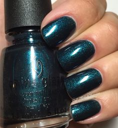 China Glaze Wishes; Don't Get Elfed Up