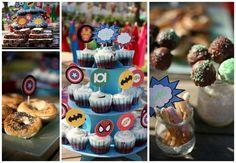 Barcelona Flavours » Fiesta de cumpleaños de SÚPER HÉROES #superheroes #fiestainfantil