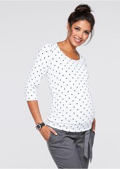 Shirt ciążowy biznesowy (2 szt.) W • 99.98 zł • bonprix