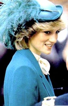 Princess Diana. One of my favorite hats.
