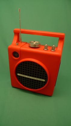 1970's Radio 8 track tape player op Etsy, 36,53€