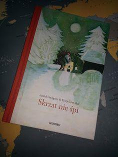 I&K W Domowym Zaciszu: Skrzat nie śpi - Wydawnictwo Zakamarki Christmas Books, Cover, Art, Kunst, Blankets, Art Education, Artworks