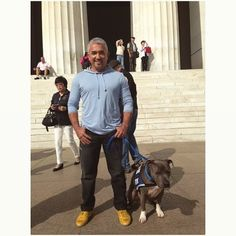 This is where Martin Luther King Jr. gave the speech that inspired us to dream. Cesar Millan - Dog Whisperer