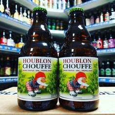 Houblon Chouffe - 9% Belgian style Tripel / IPA from #brasseriedchouffe available now