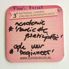 Er is behoefte aan een academie voor 'radicale participatie' ook voor 'beginner'.