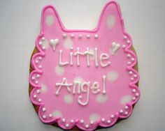 Flour Box Bakery — Pink Baby Bib