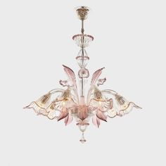 Chandeliers of Murano blown glass: Sogni di Cristallo offers a wide selection of Chandeliers of Murano blown glass and Murano classic chandeliers. Murano Chandelier, Chandeliers, Art Nouveau, Architecture Restaurant, Venetian Mirrors, Beautiful Lights, Ceiling Lamp, Pendant Lamp, Lamp Light
