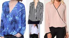 Blusa transpassada – DIY – molde, corte e costura – Marlene Mukai