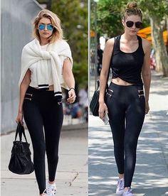 Shop #Gigi Hadid's Favorite Legging.   www.inflowstyle.com
