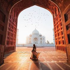 India, taj mahal, and travel image. Travel Images, Travel Pictures, Travel Photos, Wonderful Places, Beautiful Places, Taj Mahal, Places To Travel, Places To Visit, Travel Abroad