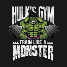 Awesome 'Hulk%27s+Gym' design on TeePublic!