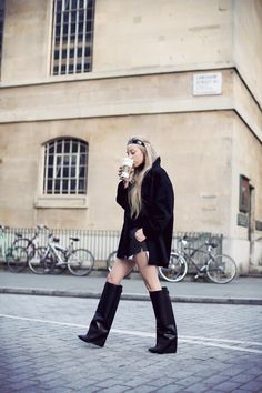 Those Givenchy boots . . .