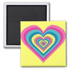 Give your refrigerator a personal touch with personalized Heart magnets from Zazzle! Shop from monogram, quote to photo magnets, or create your own magnet today! Rainbow Heart, Photo Magnets, Refrigerator Magnets, Create Your Own, Monogram, Colorful, Cute, Gifts, Kawaii