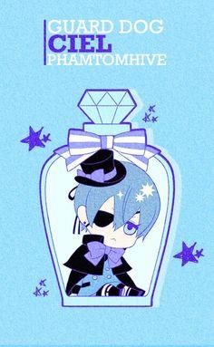 Ciel Phantomhive ♡ | Kuroshitsuji - Black Butler #Anime #Chibi