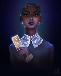 fanart of Prudence on the netflix show Tatiana Archie Comics, Character Inspiration, Character Art, Character Design, Black Girl Art, Art Girl, Weird Sisters, Kiernan Shipka, Sabrina Spellman