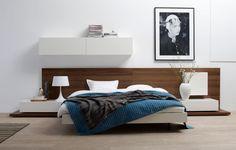 Modern bedroom furniture - Quality from BoConcept - 2012