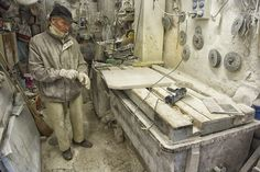 The Tools of a Venice Stone Masonry # 08 by Glenn Capers