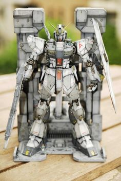 MG RX-93 Nu Gundam Ver.ka Heavy Weathered: Work by 自齋