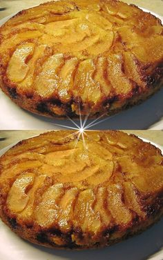 Apple Cake Recipes, Dessert Recipes, Desserts, How To Make Cake, Food To Make, Apple Pie Crust, Appetisers, Greek Recipes, Fruit Pie
