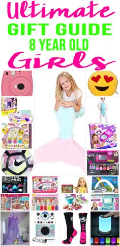 amazing gift ideas for girls cool gift guide for 8 year old girls toys more fun products for kids perfect for christmas birthdays and holidays