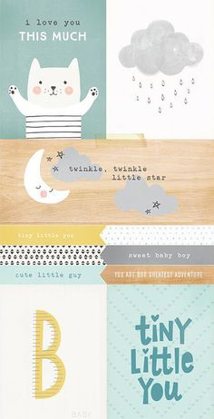 print & pattern: SCRAPBOOK - crate paper : little you